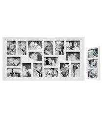bee colection 43x83 rustic  16 fotos 10x15 e 1 painel fine 22x42 3 fotos 10x15 branco kapos