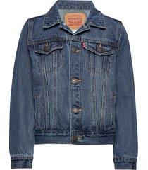 jacket outerwear jackets & coats denim & corduroy blauw levi's