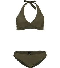 bikini all''americana (set 2 pezzi) (verde) - bpc bonprix collection