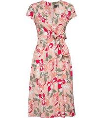 dress woven fabric jurk knielengte taifun