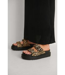 na-kd shoes spänne sandaler - multicolor