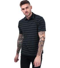 mens charged cotton scramble stripe polo shirt