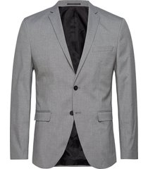 slhslim-mylologan light grey blz b noos blazer kavaj grå selected homme
