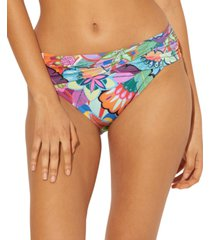 bleu by rod beattie ruched hipster bikini bottoms women's swimsuit