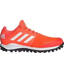 zapatilla naranja adidas hockey divox 1.9s
