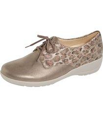 skor goldkrone bronsfärgad