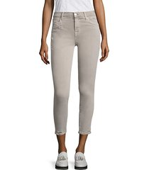 835 distressed skinny capri jeans