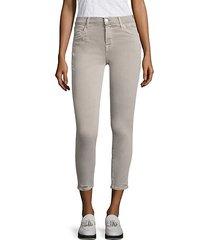 835 mid-rise distressed capri jeans