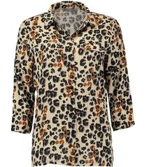 blouse dierenprint