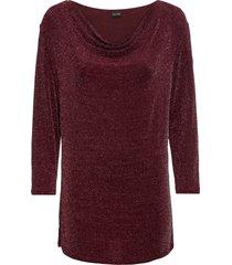 maglia in lurex (rosso) - bodyflirt