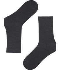 calzedonia short wool and cotton socks man grey size 40-41