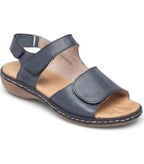 659g0-14 shoes summer shoes flat sandals blå rieker