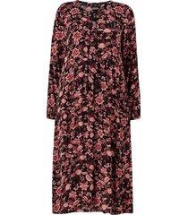 klänning yafroditte l/s dress maxi
