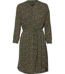 slfmetha-damina 7/8 dress ex kort klänning grön selected femme