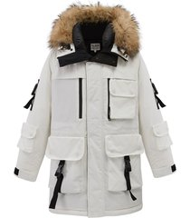 104180-100 | premium down jacket | white - m
