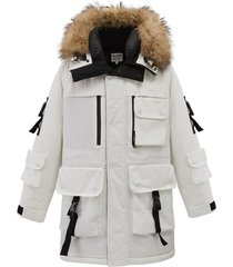 104180-100 | premium down jacket | white - l