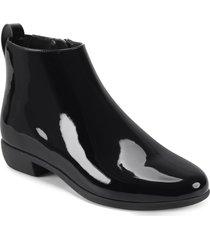 women's aerosoles spencer bootie, size 10.5 m - black