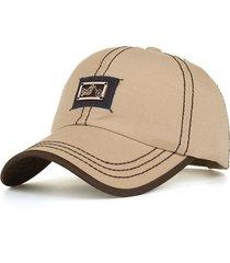 berretto regolabile dei cappelli di hip hop della visiera casuale dei berretti da baseball di logo del motociclo del metallo degli uomini