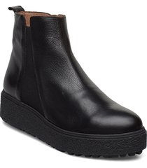 a-9503 shoes boots ankle boots ankle boot - flat svart wonders