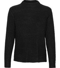 bynora jumper 2 - stickad tröja svart b.young