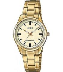ltp-v005g-9a reloj dorado dama
