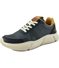 tenis lifestyle gris oscuro ac&t ref 15 lona