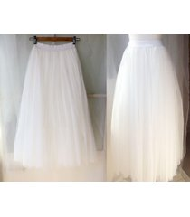 white long tulle skirt outfit adult tulle long skirt white wedding bridal skirts