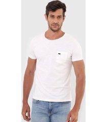 camiseta sergio k bolso off-white