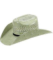 chapéu de palha infantil eldorado company 10x bicolor unissex