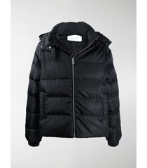 1017 alyx 9sm neck-strap quilted coat