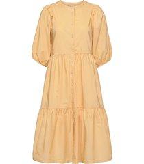 hasitapw dr knälång klänning gul part two