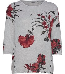 frleflower 1 top blouses short-sleeved grå fransa
