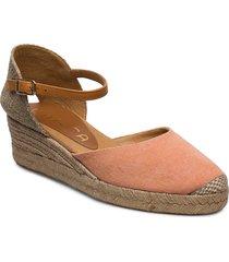 cisca_20_ecl_can sandalette med klack espadrilles brun unisa