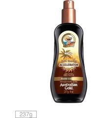 bronzeador instantaneo dark tanning accelerator spray gel- 237ml