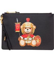pochette borsa a mano donna roman teddy bear