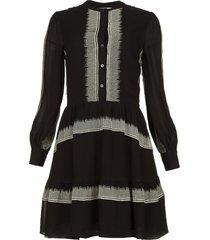 jurk lindsey  zwart