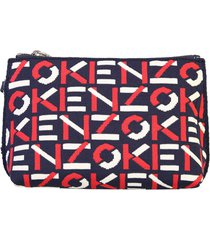 kenzo branded pouch