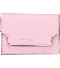 marni logo wallet