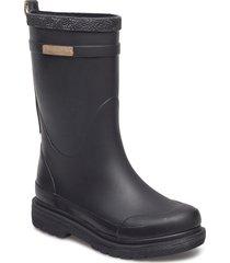 rubber boots regnstövlar skor svart ilse jacobsen
