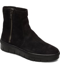 dakota wool shoes boots ankle boots ankle boots flat heel svart pavement