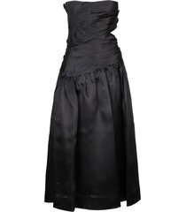 zimmermann brightside wrap midi dress