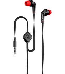 audífonos, jd88 deportivos estéreo auriculares super bass para manos libres con micrófono para sony iphone samsung (negro)