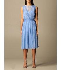 alberta ferretti dress alberta ferretti silk and lace dress