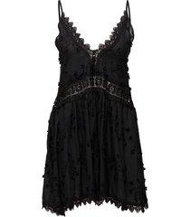 issa mini dress korte jurk zwart by malina
