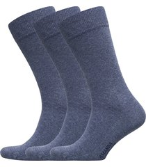 true ankle sock 3-pack underwear socks regular socks blå amanda christensen