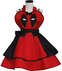 deadpool cosplay costume party halloween dress custom made any size