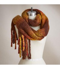 sundance catalog women's piccadilly scarf in brown mult