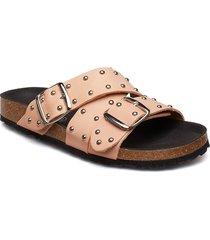 cara cross studs shoes summer shoes flat sandals brun shoe the bear