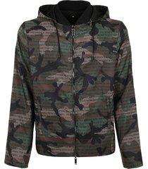 valentino camouflage windbreader jacket