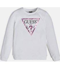 bluza z laminowanym trójkątnym logo